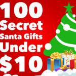 100 Secret Santa Gifts Under $10