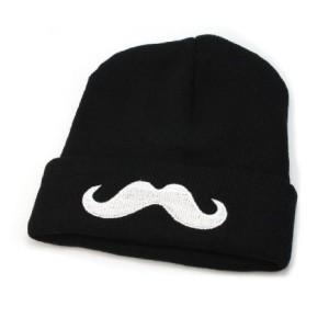 mustache-beanie