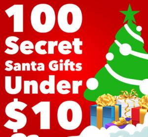 100 Secret Santa Gifts Under 10