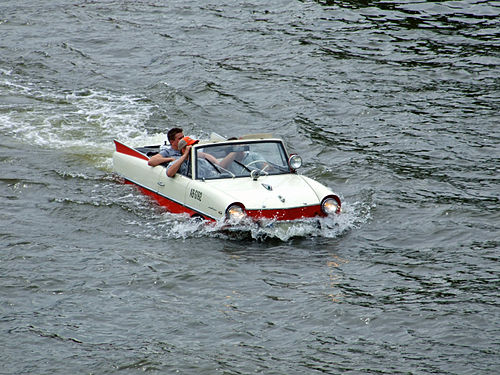 Amphicar: The Original Amphibious Car | The Coolest Stuff Ever