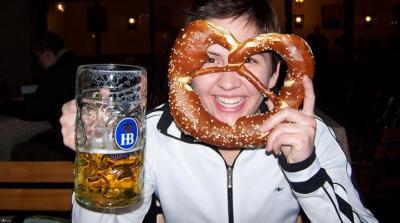 Hofbrauhaus 1 Liter Dimpled Beer Mug The Coolest Stuff Ever