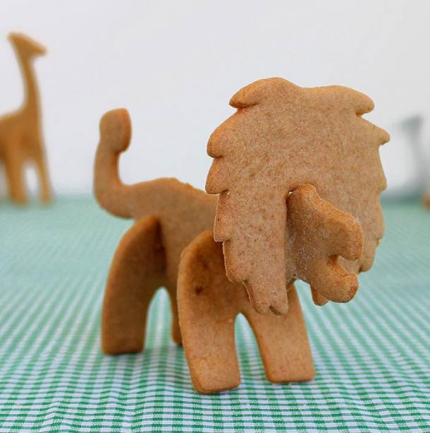 3D Safari Cookie Cutters