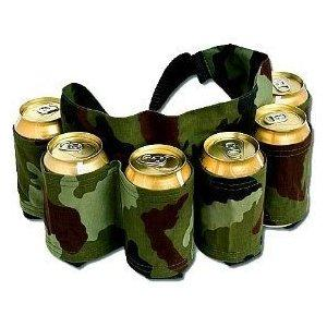 6 Pack Beer Can Holster Belt