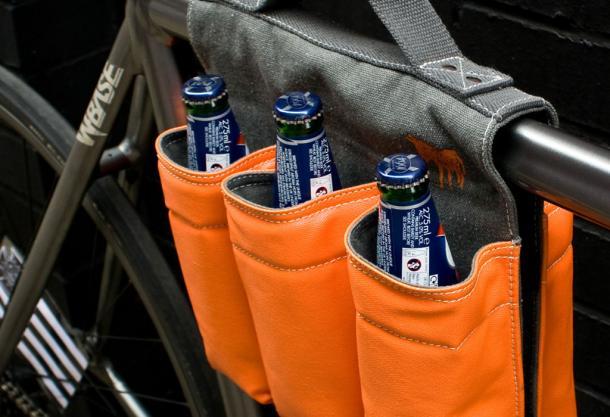A 6-Pack Bike Bag!
