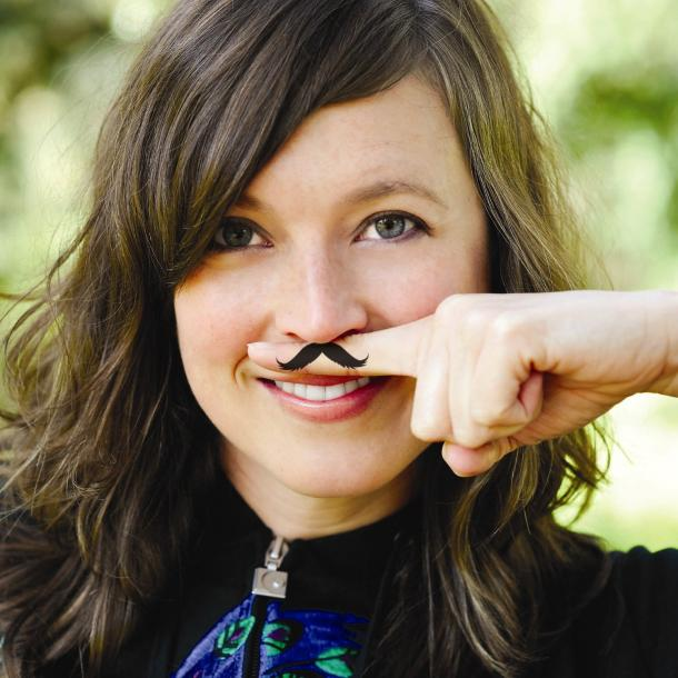 Fingerstache Temporary Tattoos