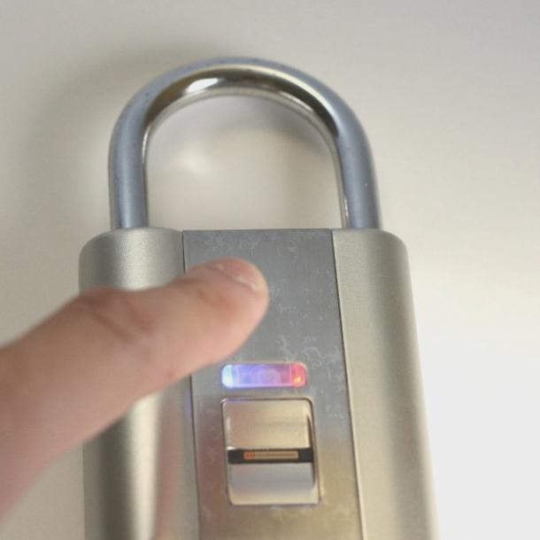 Fingerprint Scanning Biometric Padlock