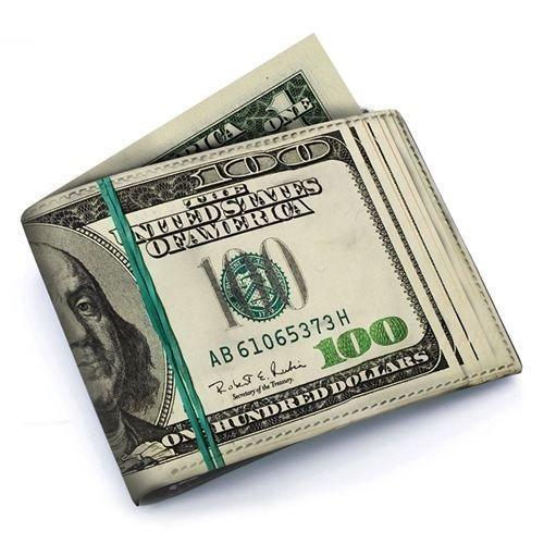 Loaded! $100 Bill Wallet