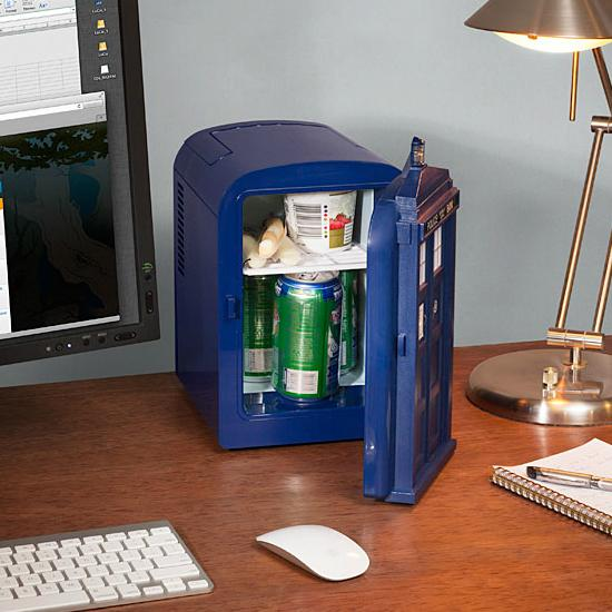 Dr Who Tardis Mini Fridge The Coolest Stuff Ever