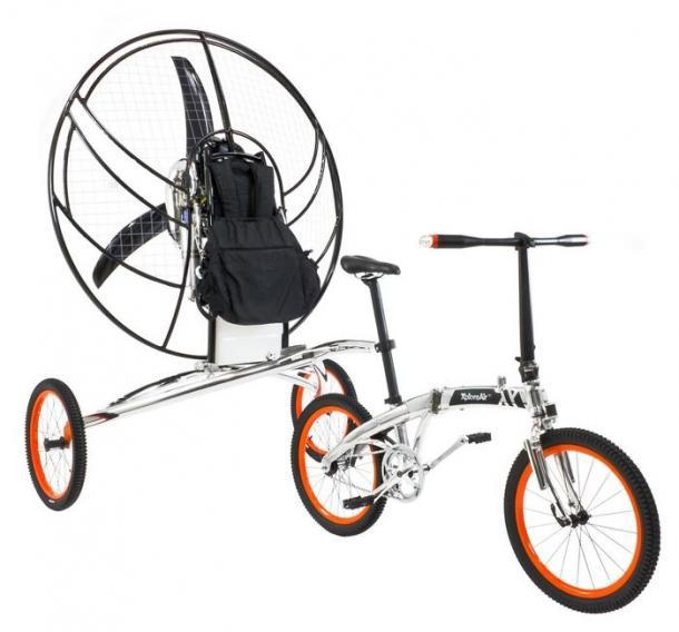 XploreAir Paravelo Flying Bicycle