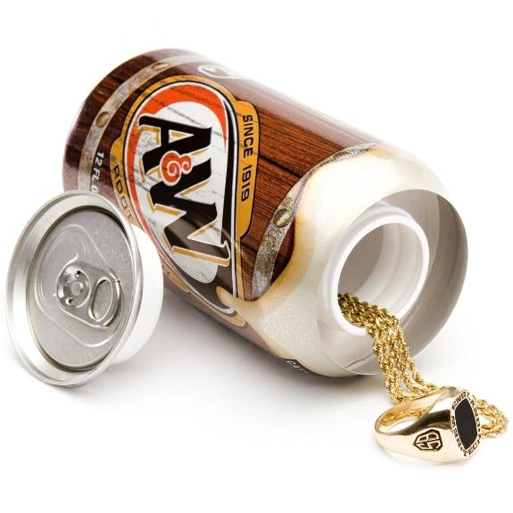 A&W Root Beer Can Safe