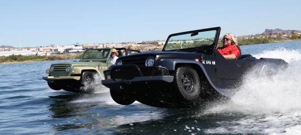 Amphibious WaterCar