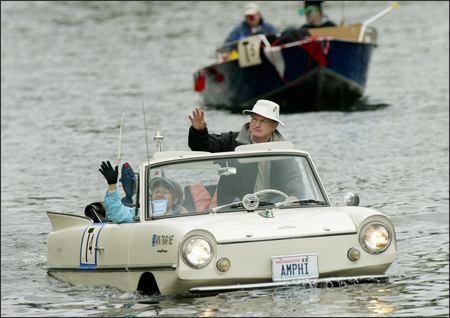 Amphicar: The Original Amphibious Car