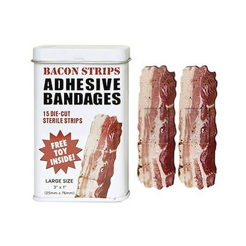 Bacon Strip Band Aids