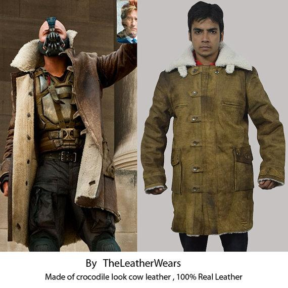 The Dark Knight Rises Bane Leather Jacket The Coolest