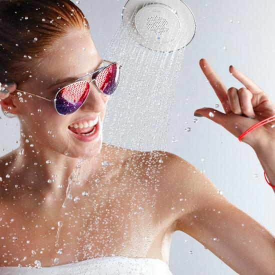 Bluetooth Wireless Showerhead Speaker