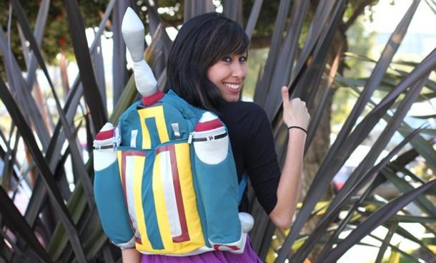 Boba Fett Plush Backpack