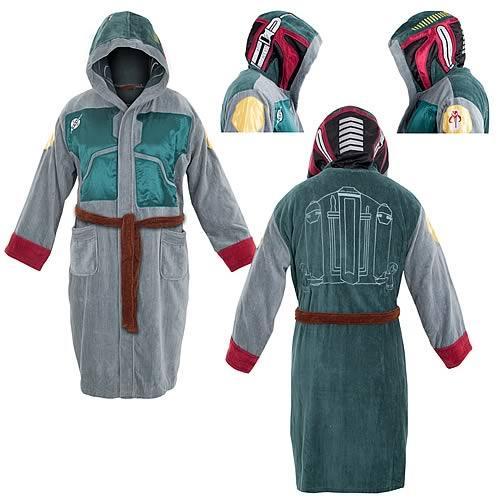 Star Wars Boba Fett Bath Robe