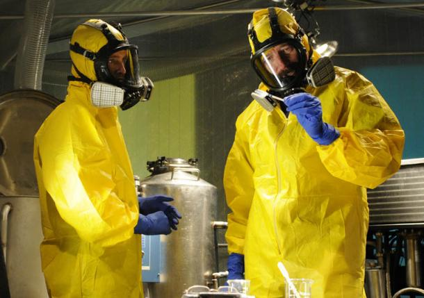 Breaking Bad Yellow Coveralls Costume