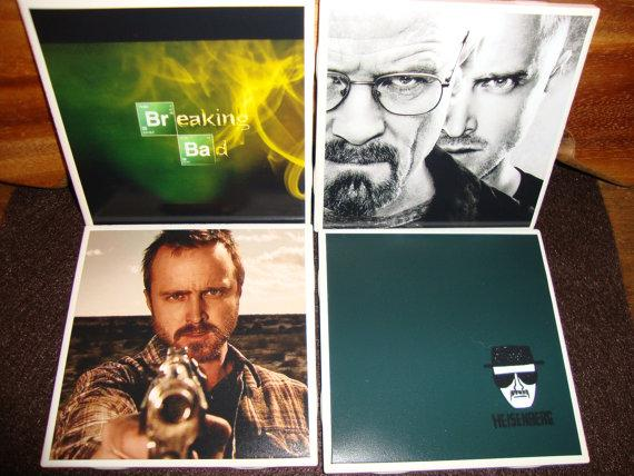 Breaking Bad Drink Coasters