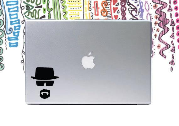 Heisenberg Breaking Bad Laptop Decal