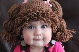 Cabbage Patch Kid Crocheted Hats