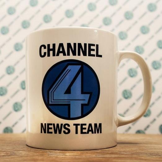 Anchorman Channel 4 News Team Coffee Mug