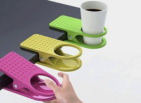 Clip-On Table Cup Holders