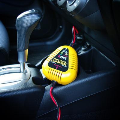 Closed-Hood Car Jump Starter