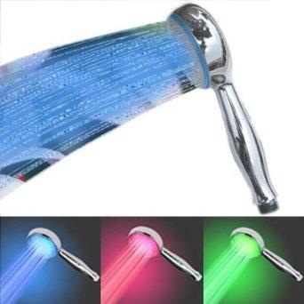 Color-Changing Shower Head
