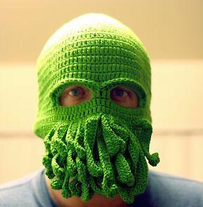 Cthulhu Tentacled Knit Beanie