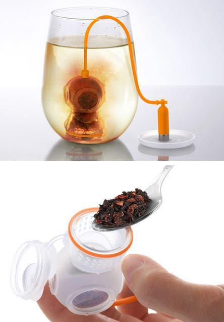 Deep Tea Diver Loose Tea Infuser