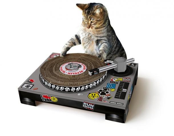 DJ Cat Scratch Mat