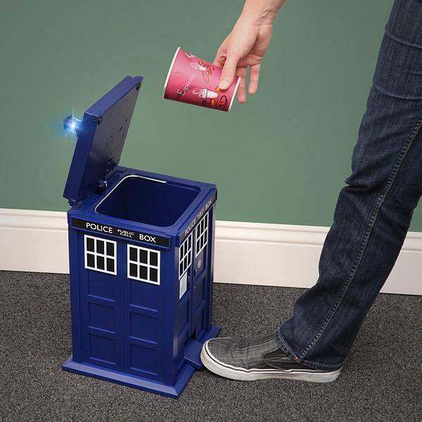 Doctor Who TARDIS Waste Basket