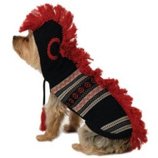 Dog Mohawk Hooded Sweater