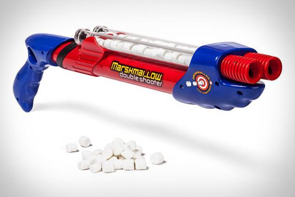 Double Barrel Marshmallow Gun