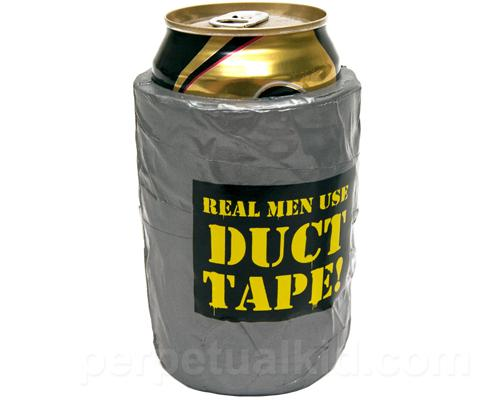 Duct Tape Beer Koozie