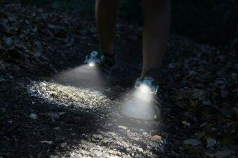 Flashlight Shoes