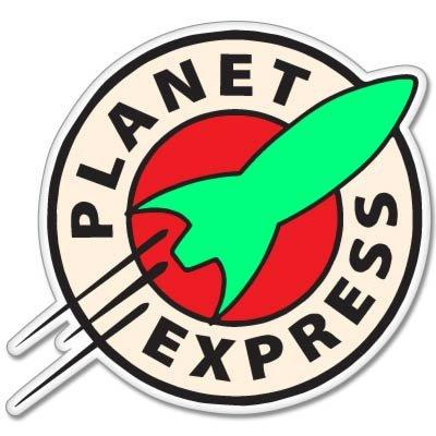 Futurama Planet Express Decal