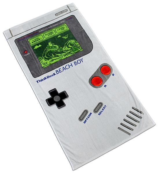 Nintendo Gameboy Beach Towel The Coolest Stuff Ever
