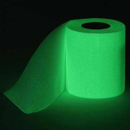 Glow-In-The-Dark Toilet Paper