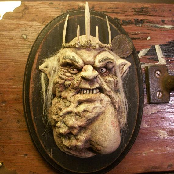 The Hobbit Great Goblin Plaque