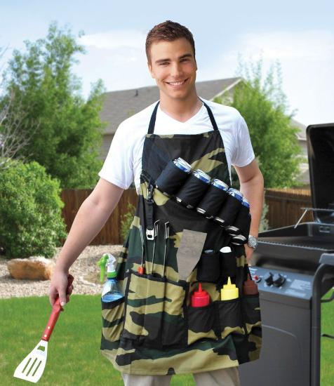 The Ultimate Grillmaster BBQ Apron