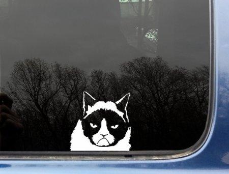 The Original Grumpy Cat Vinyl Decal