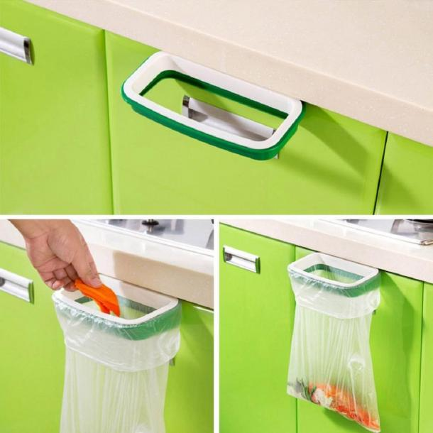 Kitchen Garbage Bag Holder