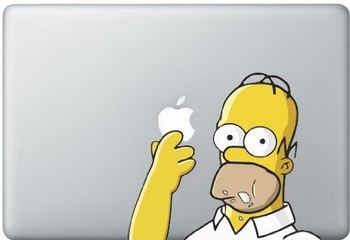 Homer Simpson Macbook Decal