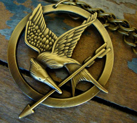 Hunger games mockingjay pendants the coolest stuff ever hunger games mockingjay pendants mozeypictures Images