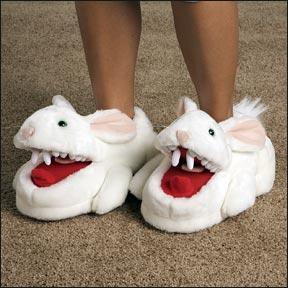 Monty Python and the Holy Grail Killer Rabbit Slippers