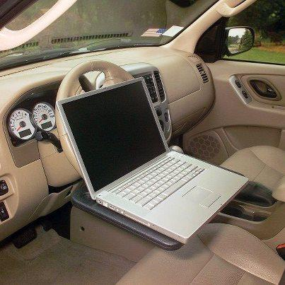Laptop Steering Wheel Desk The Coolest Stuff Ever