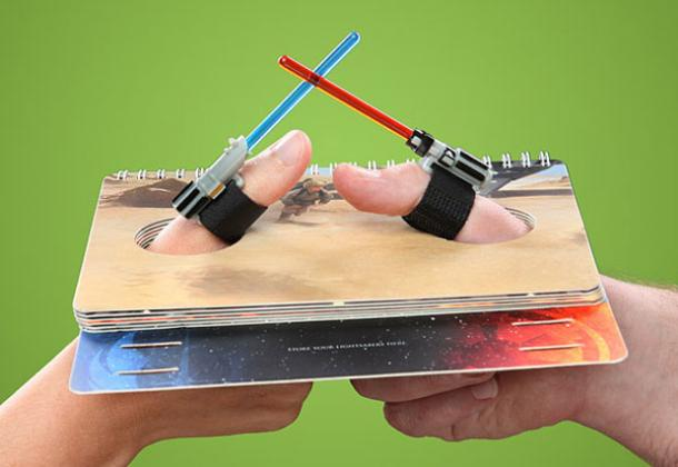 Star Wars Lightsaber Thumb