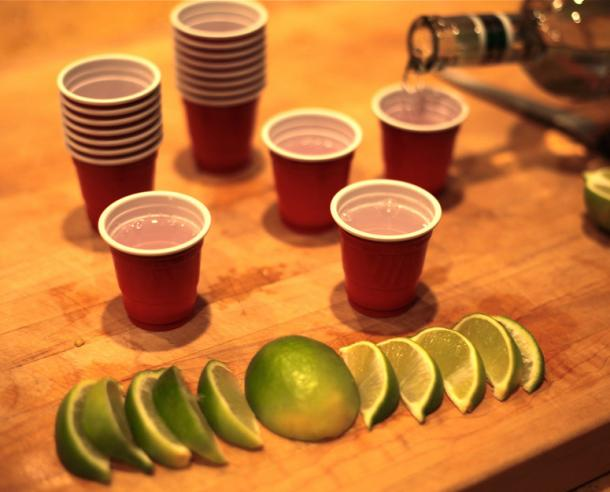 Lil' Reds - Red Solo Cup Shot Glasses
